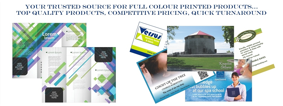 Brochures, Business Cards, Posters, Door Hangers, Notepads, Presentation Folders and SO MUCH MORE! Contact Us Today!